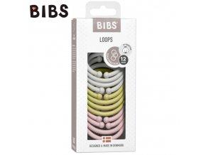 BIBS LOOPS 12-PACK - HAZE & MEADOW & BLOSSOM