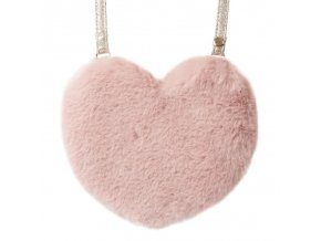 Rockahula Kids - kabelka Fluffy Love Heart