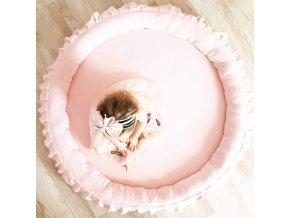 Dětské hnízdo- růžové
