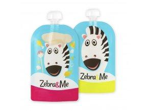 0 Zebra&Me kapsicky 2ks kuchar+zebra