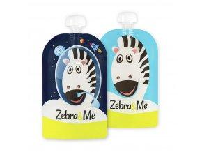 0 Zebra&Me kapsicky 2ks kozmonaut+zebra
