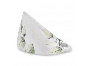 Bambusový šátek s gumičkou- Eukalyptus
