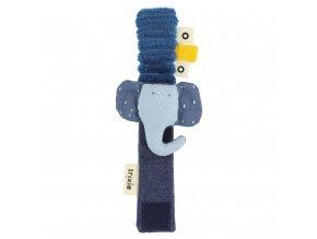 Chrastítko na ruku- Mrs. Elephant