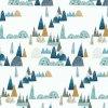 Bambusová přikrývka 120x100cm- Blue Hills