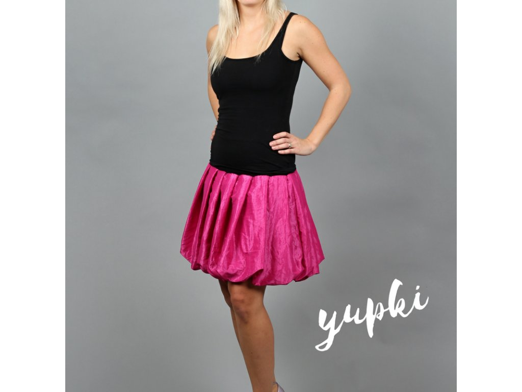 yupki jasně růžová