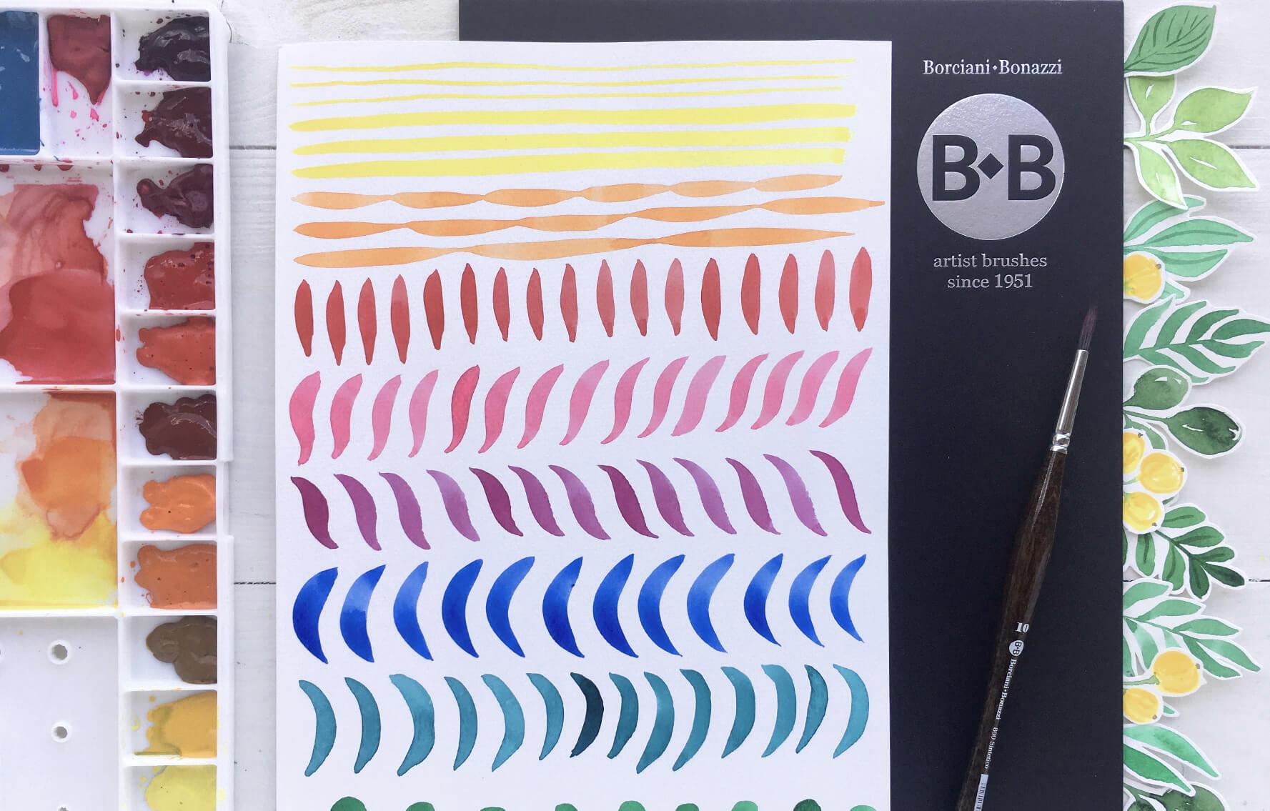 Akvarel: Malování volným tahem 1. díl - základní tahy