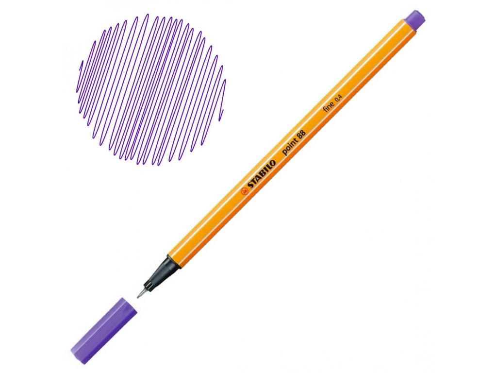 Liner Stabilo Point 88 - fialová
