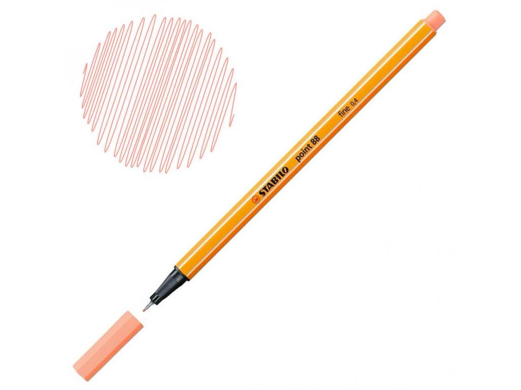 Liner Stabilo Point 88 - oranžová