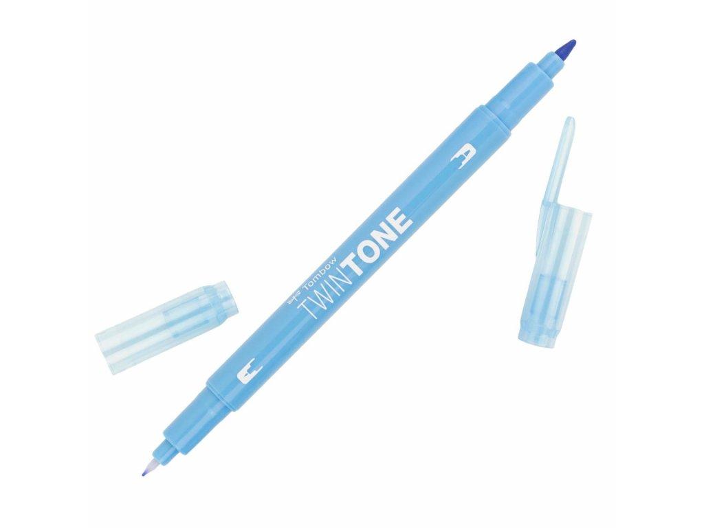 popisovač tombow twintone 83 sax blue