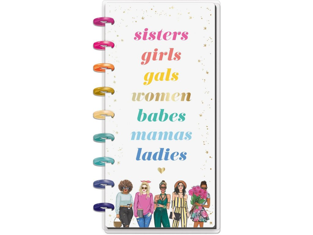 zapisnik happy notes skinny classic x rongrong sisters teckovany (1)