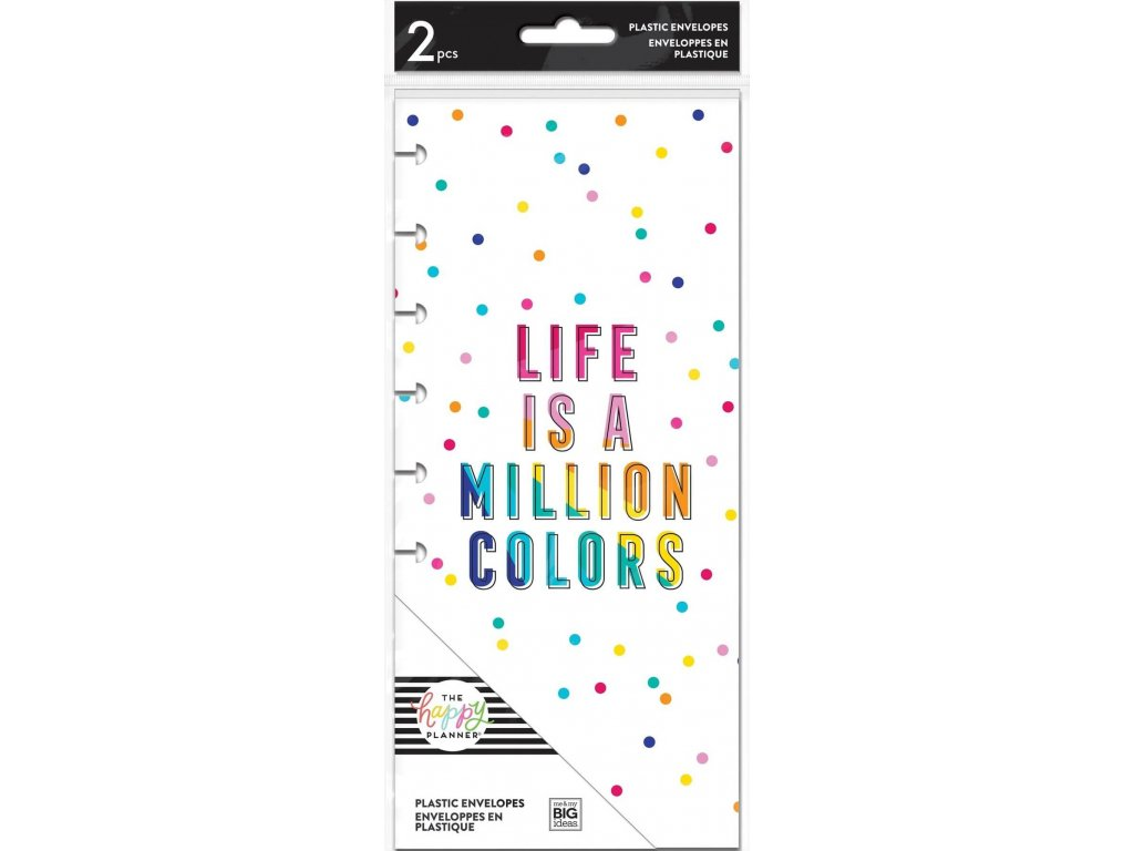 kapsy do diare happy planner skinny classic rainbow