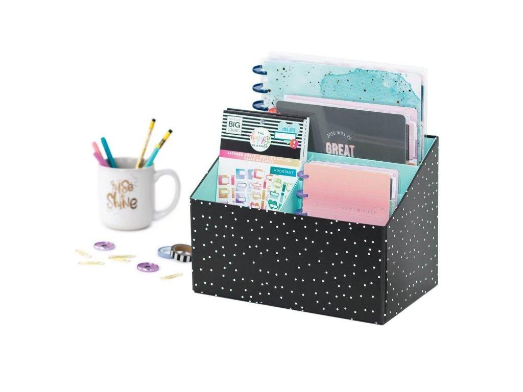 organizer happy planner polka dot (1)