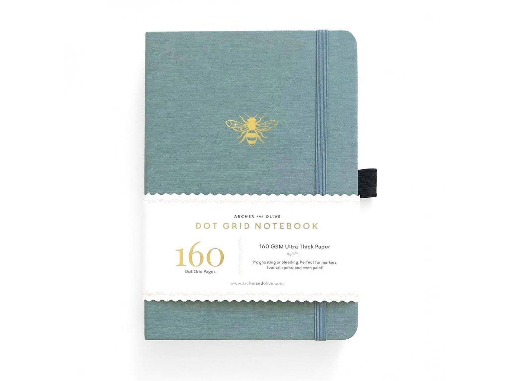 zápisník archer and olive vintage bee (1)