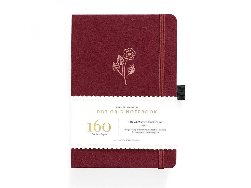 zápisník archer and olive rose gold (1)