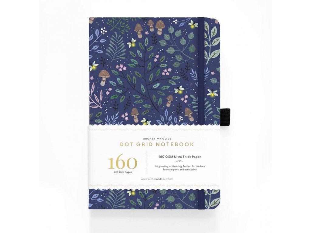 zápisník archer and olive forest blue