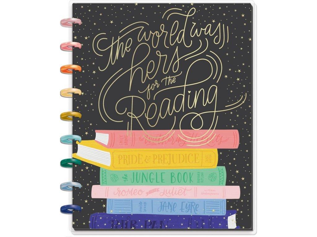 Zápisník Happy Notes CLASSIC The Bookish