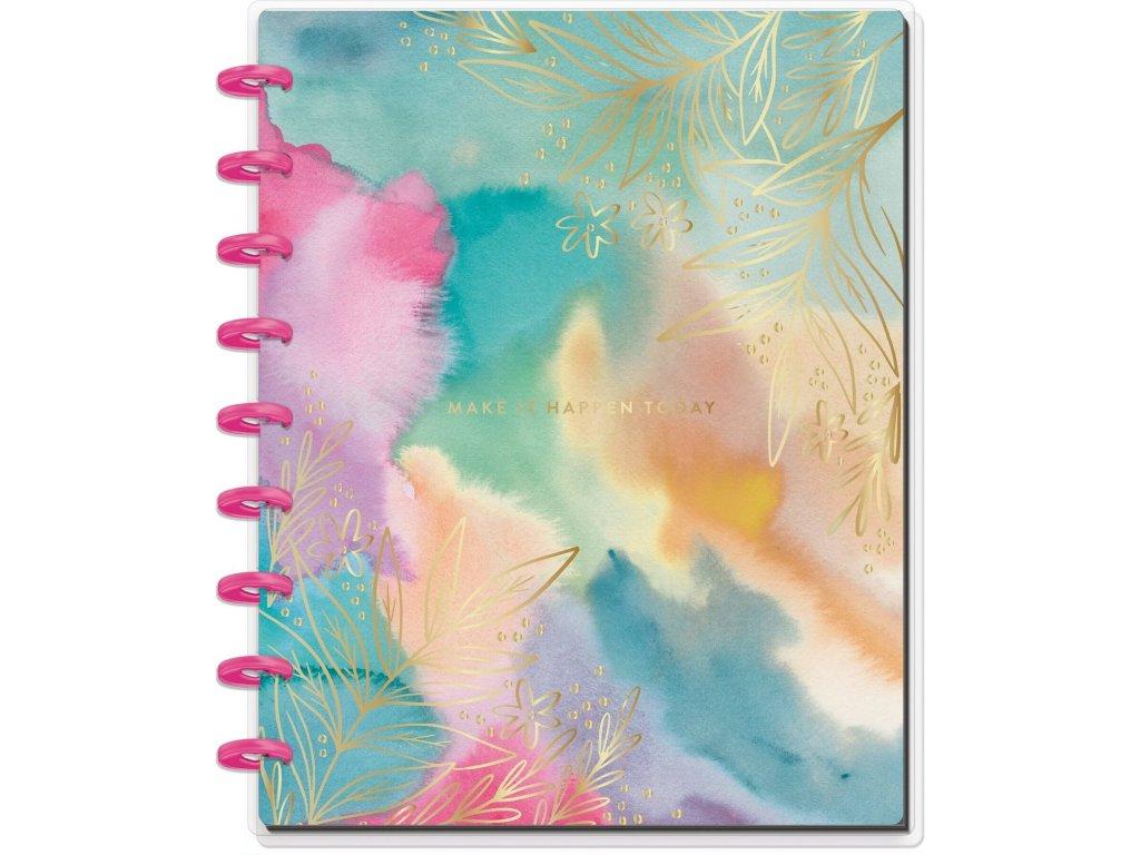 Zápisník Happy Notes CLASSIC Make It Happen Today