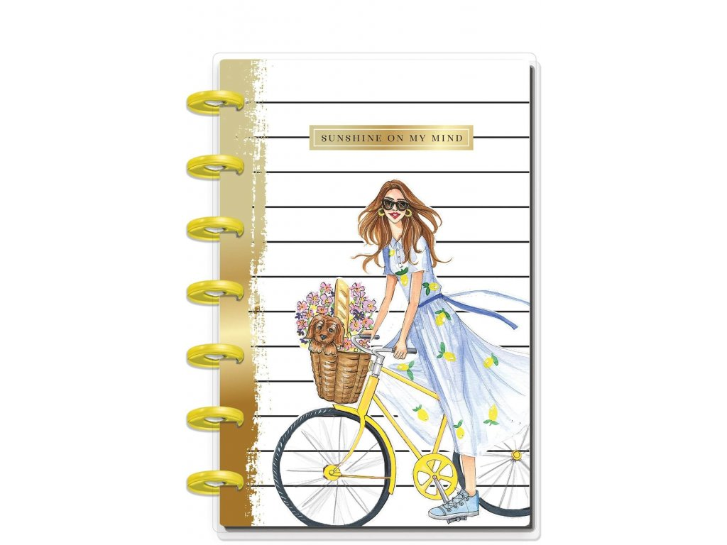 Zápisník Happy Notes MINI Rongrong Sunshine