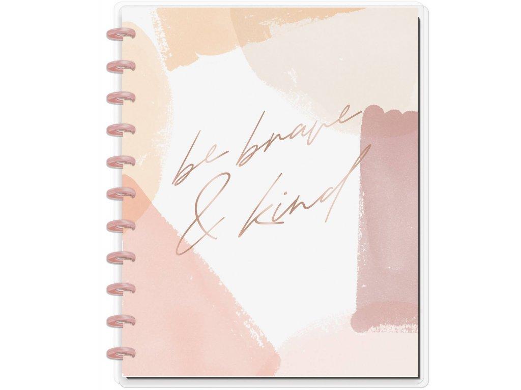 Zápisník Happy Notes BIG Be Brave & Kind