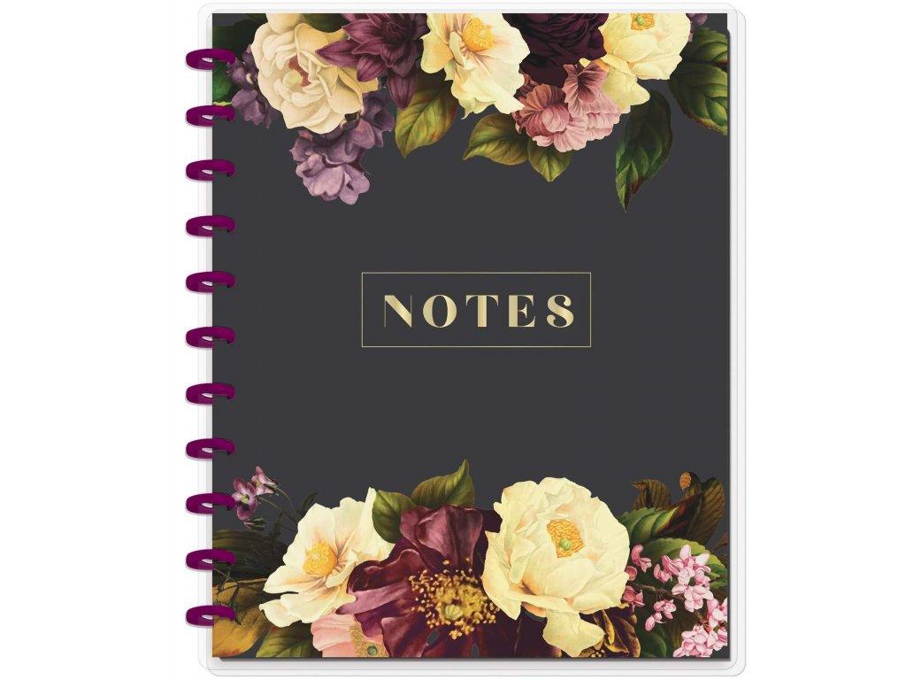 Zápisník Happy Notes BIG Based On Monthly Florals