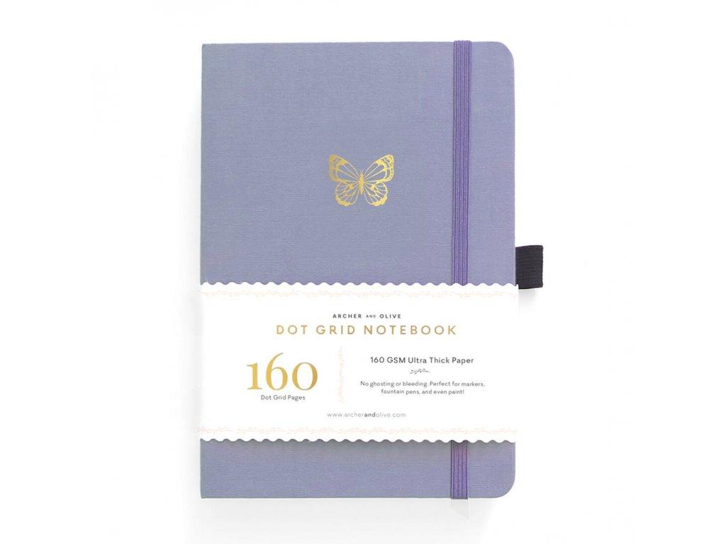Zápisník Archer & Olive A5 Butterfly Wings