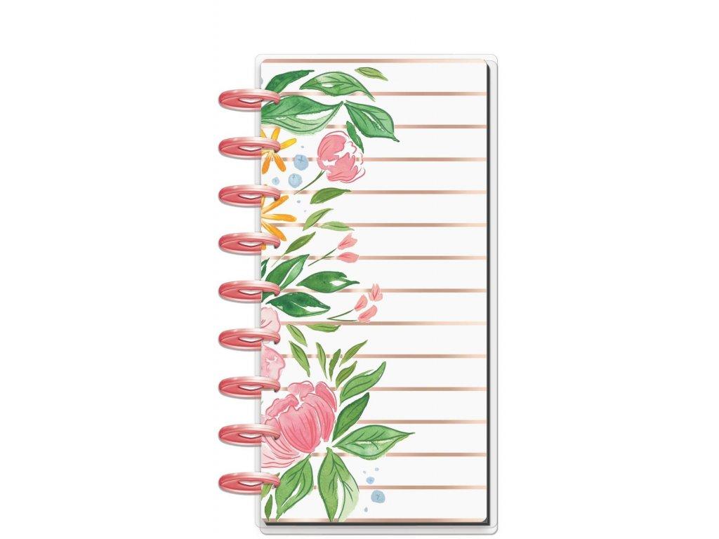 Zápisník Happy Notes SKINNY CLASSIC Detailed Florals
