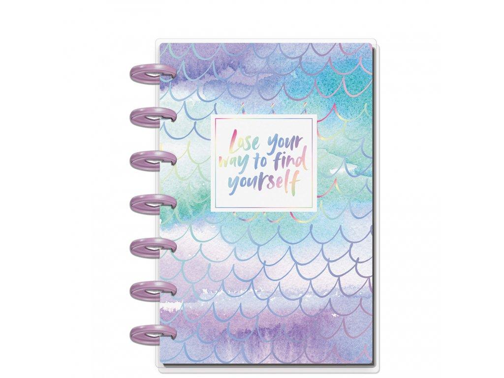 Zápisník s doplňky Happy Notes MINI Happy Mermaids (1)