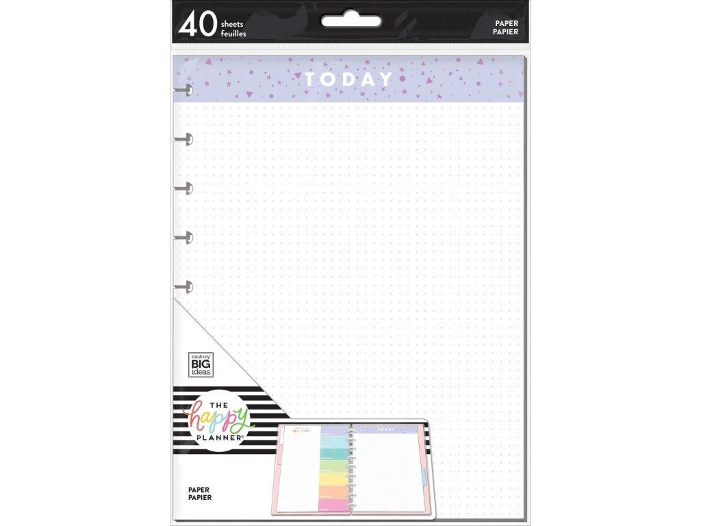Poznámkové listy Happy Planner CLASSIC Colors