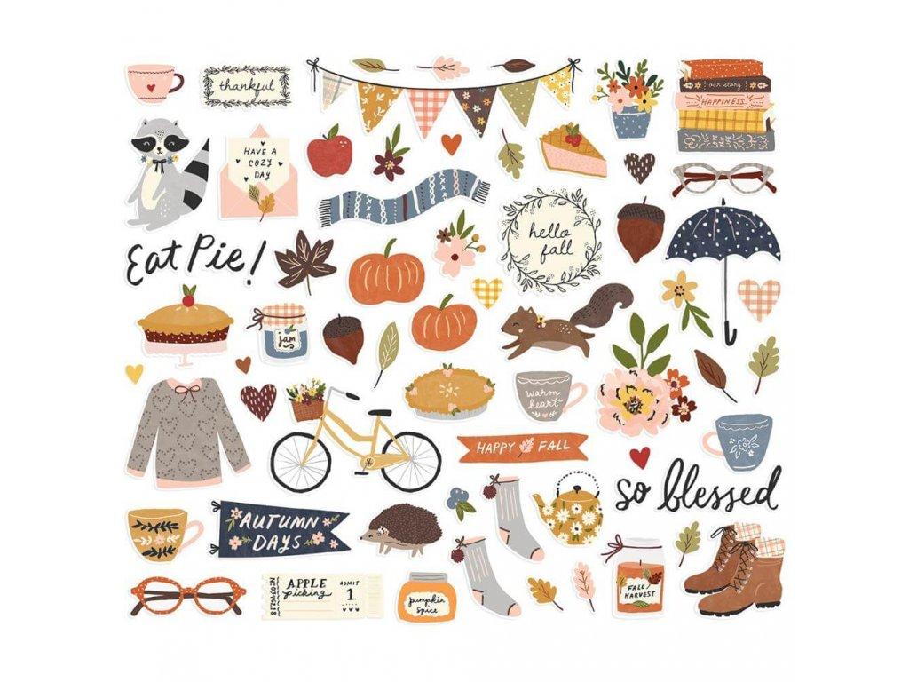 Papírové výseky Simple Stories Cozy Days