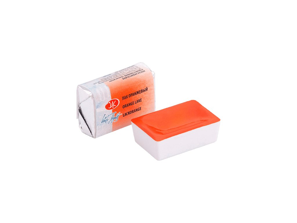 Akvarelové barvy White Nights Orange Lake, 1 ks
