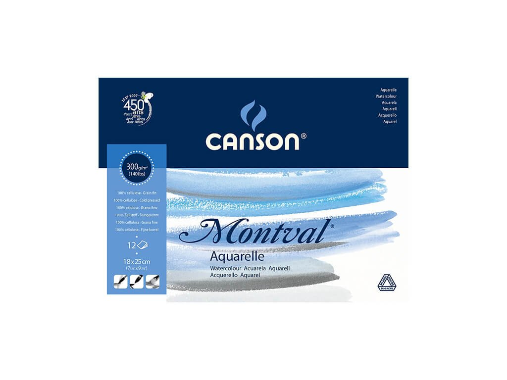 Skicák Canson Montval 18x25