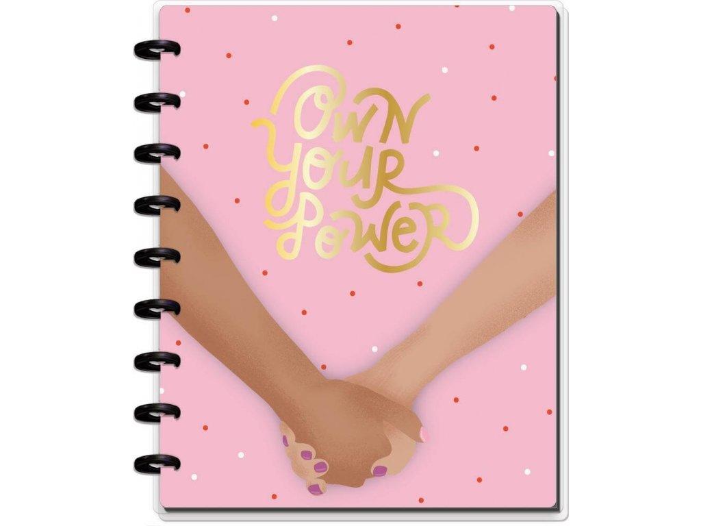 Zápisník Happy Notes CLASSIC Girls Can