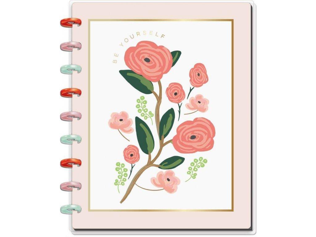 Zápisník Happy Notes CLASSIC Pastel Blooms