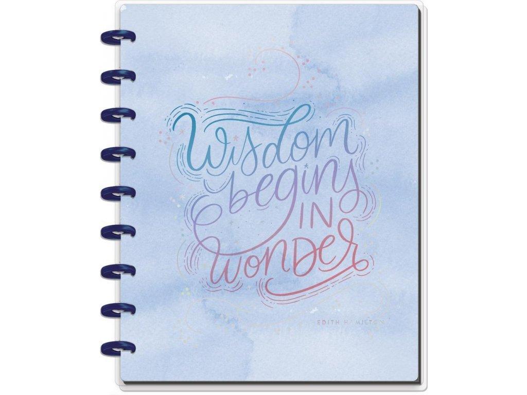 Zápisník Happy Notes CLASSIC Wisdom & Wonder