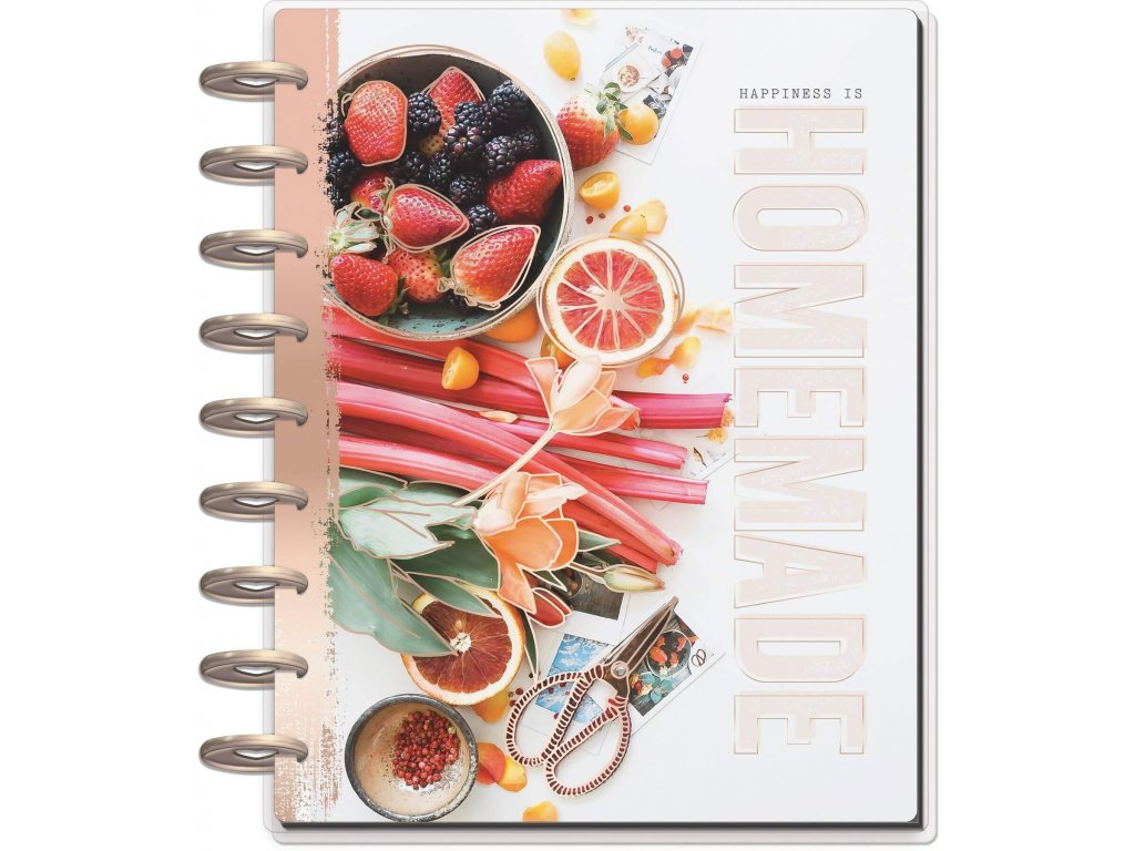 vyr 4018 zapisnik na recepty happy planner classic recipe keeper
