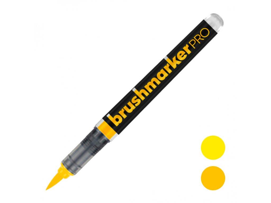 štětcový fix karin brushmaker pro žlutý