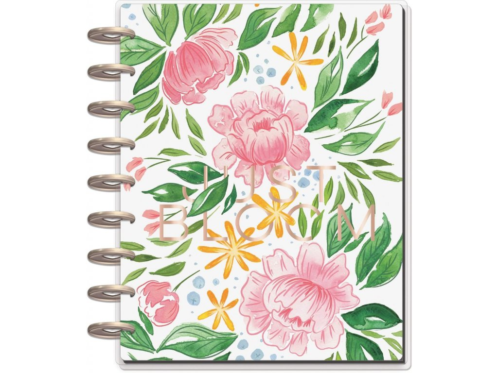 Diář 2020-2021 Happy Planner CLASSIC - Detailed Florals - Yuppi