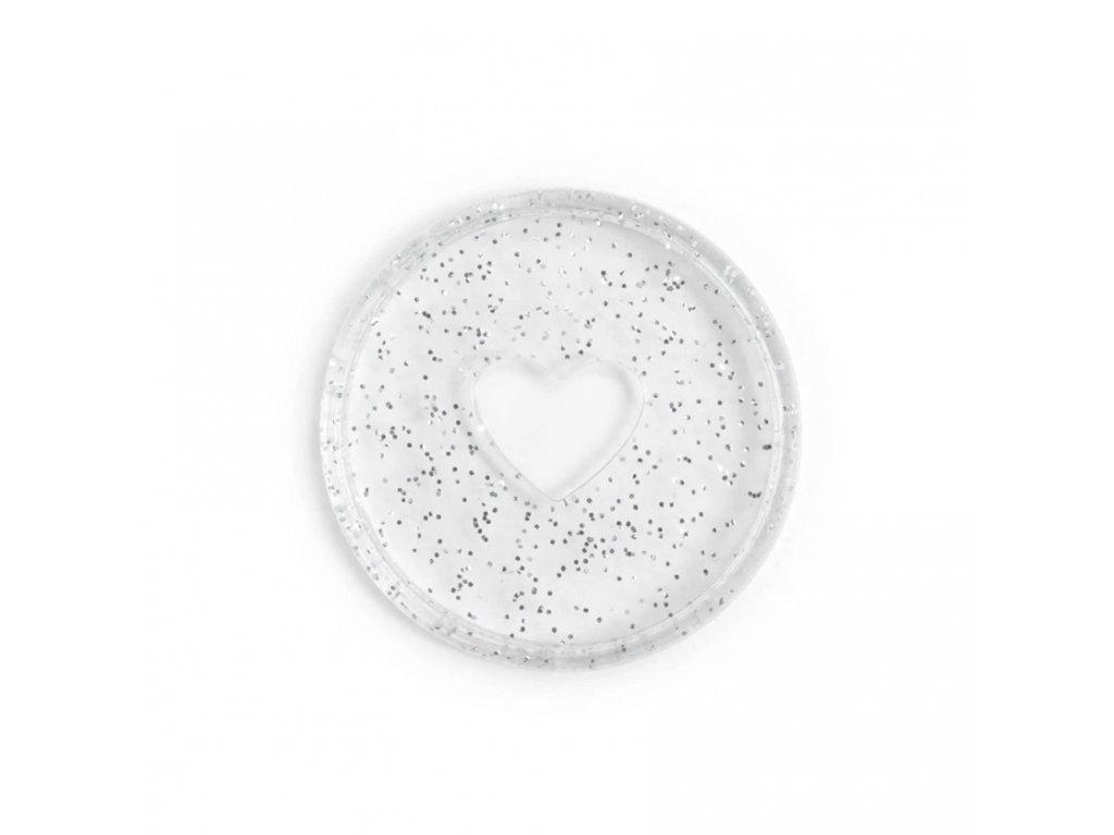 Spojovací disky do diáře Happy Planner 3,2 cm Glitter Silver