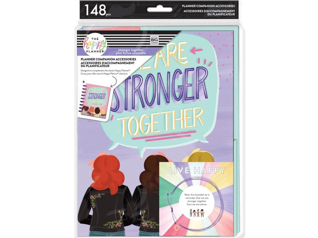 Rozšíření pro diáře Happy Planner CLASSIC Stronger Together