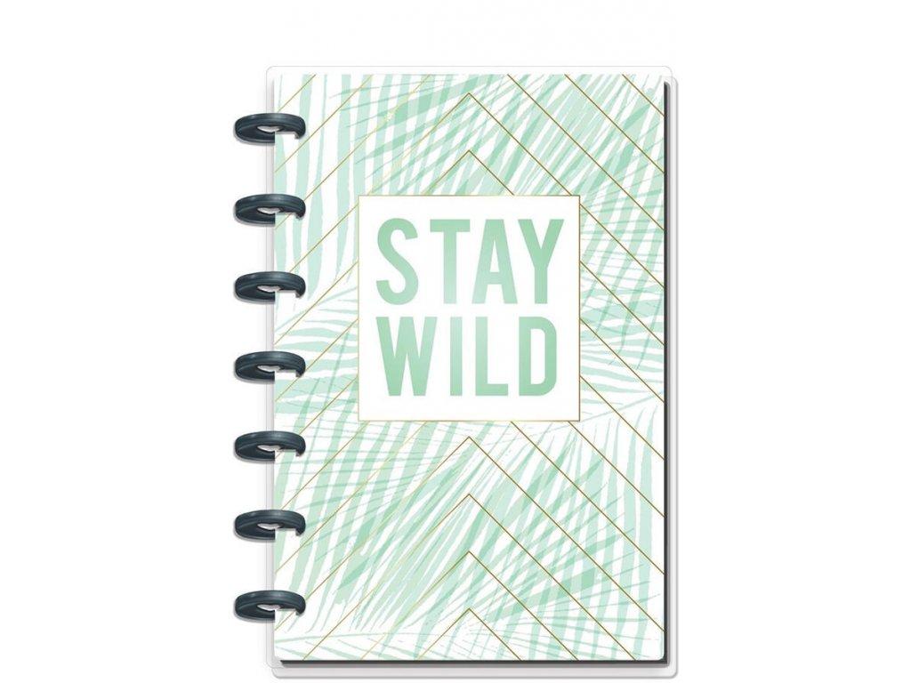 Zápisník Happy Notes MINI Stay Wild