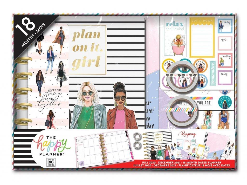 Diářový kit 2020 2021 Happy Planner RongRong Plan It
