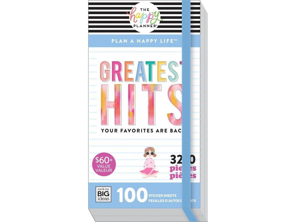 Samolepky Happy Planner Mega Pack Greatest Hits