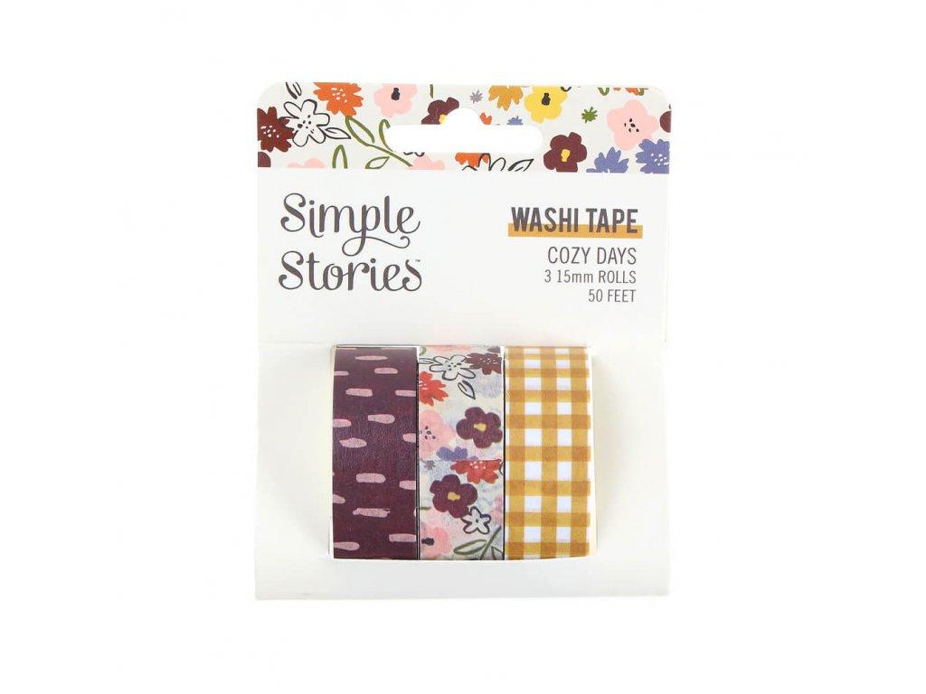 washi pásky Simple Stories Cozy Days