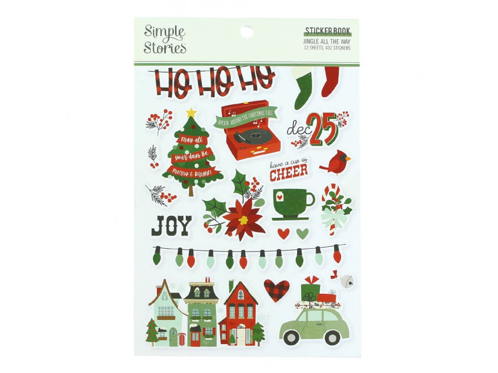 samolpeky Simple Stories Jingle All the Way