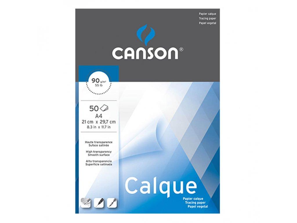 Transparentní papír Canson Calque A4