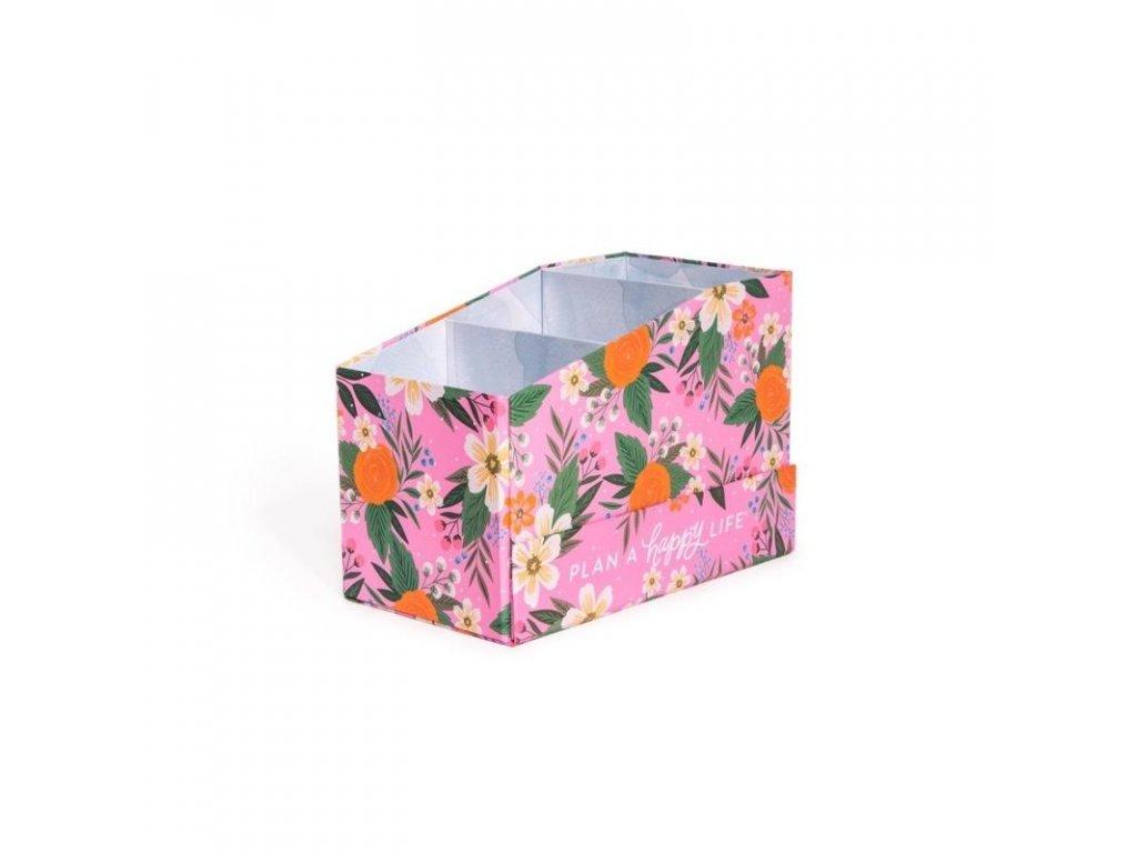 Organizér na samolepky Happy Planner Rosy Florals