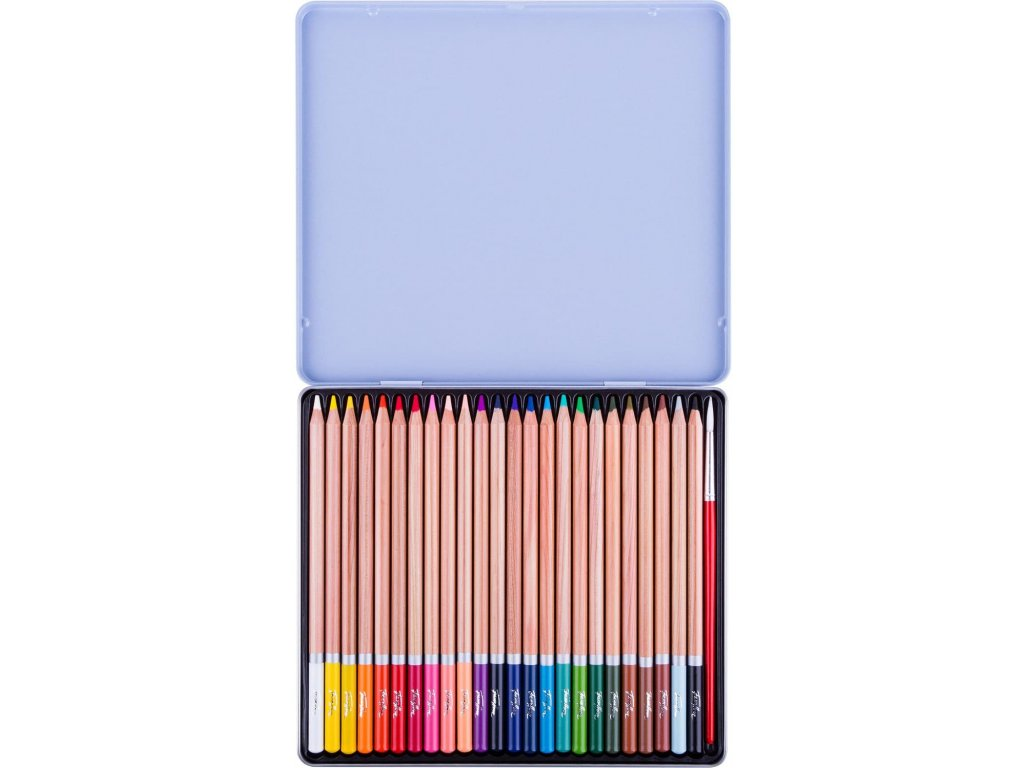 Akvarelové pastelky White Nights sada 24 ks
