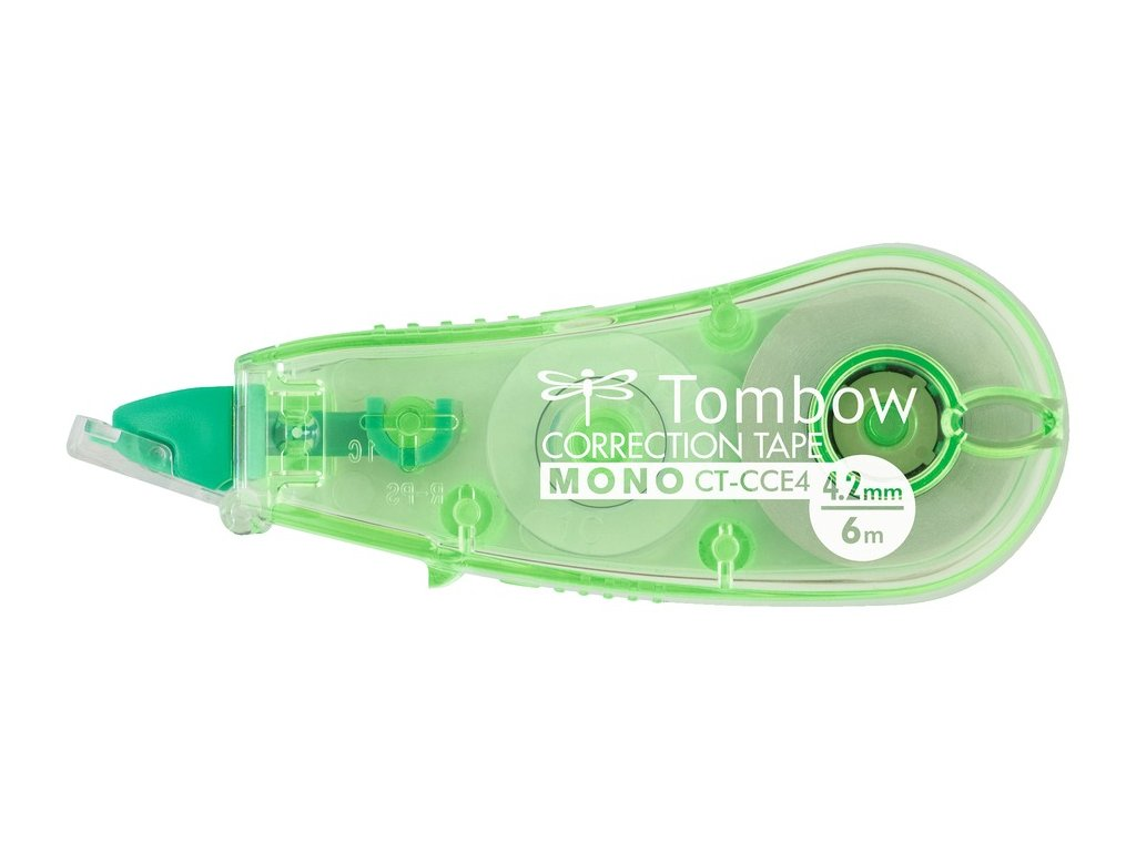Korekční strojek Tombow MONO CCE4, š. 4,2 mm zelená