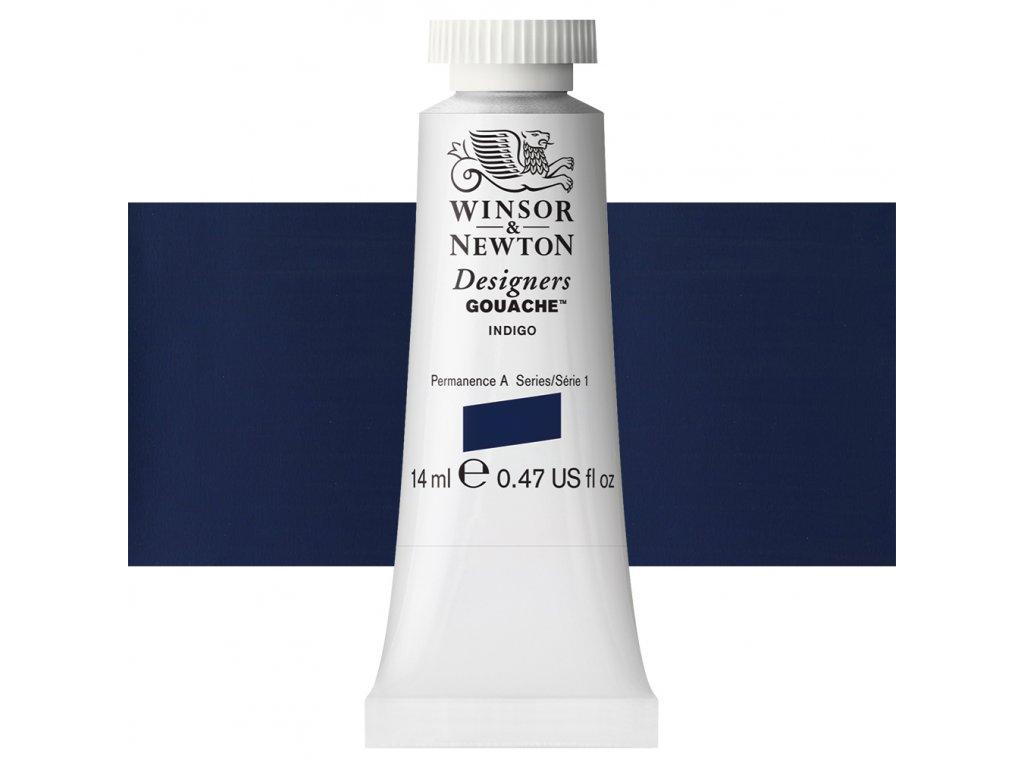 kvasova barva winsor newton indigo