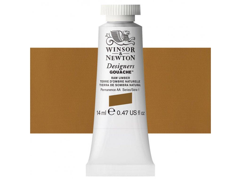 kvasova barva winsor newton raw umber